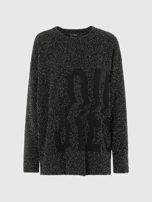 M-AGATE, Black - Knitwear