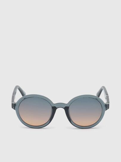 Diesel - DL0264, Blue - Sunglasses - Image 1