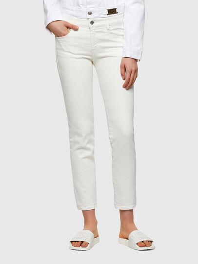 Diesel - D-Rifty 009VU, White - Jeans - Image 1