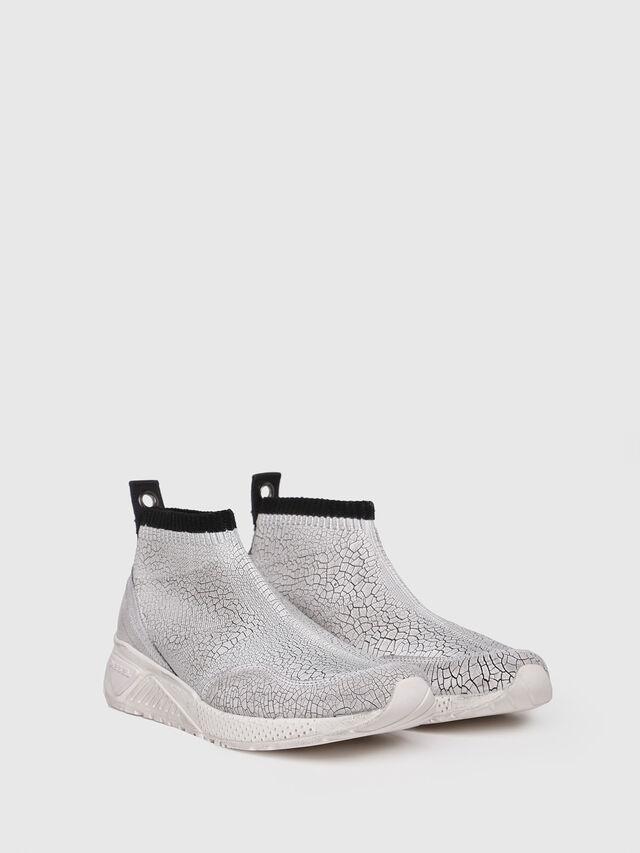 Diesel - S-KB ANKLE SOCK, Silver - Sneakers - Image 2