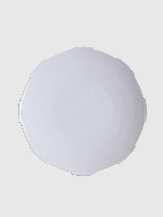 Living 10986 MACHINE COLLEC, White - Plates - Image 1