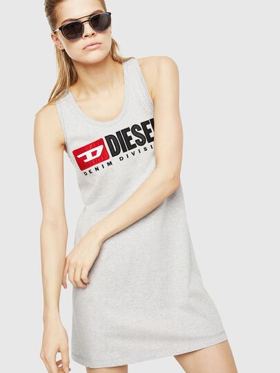 Diesel - T-SILK, Light Grey - Tops - Image 1