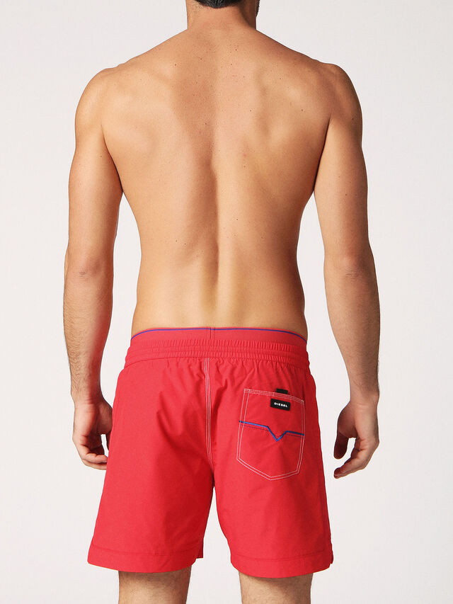 Diesel - BMBX-DOLPHIN-S 2.017, Red - Swim shorts - Image 2