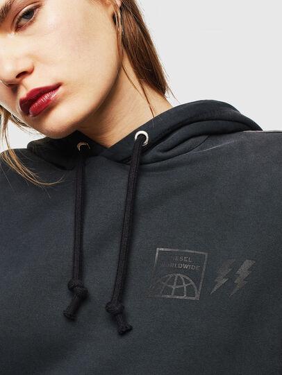 Diesel - S-GIRK-HOOD-SUN, Black - Sweaters - Image 5
