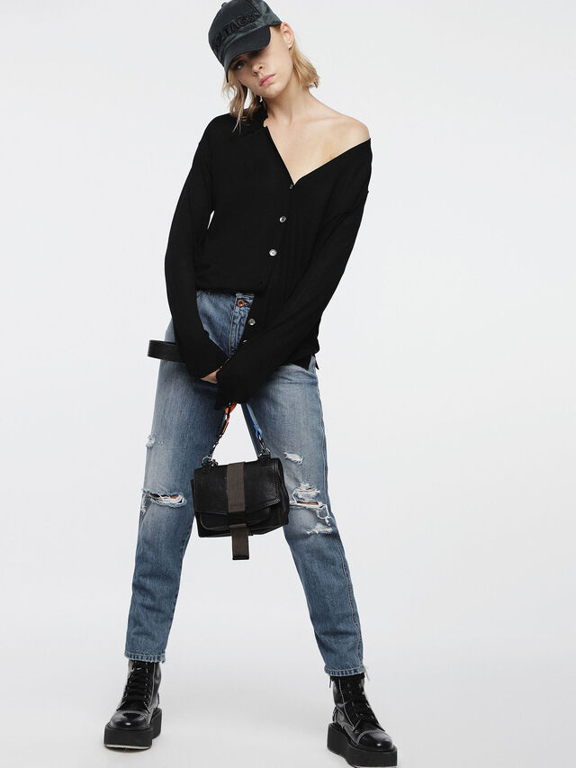 Diesel - M-STILES, Black - Knitwear - Image 6