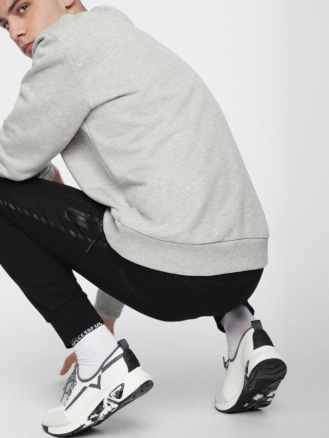 Diesel - S-KBY, White/Grey - Sneakers - Image 5