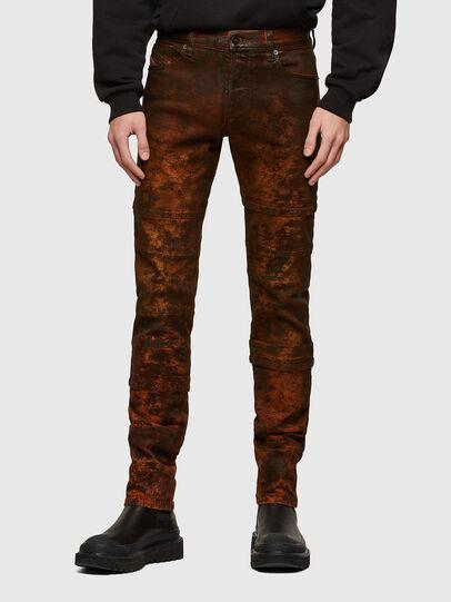 Diesel - TYPE-2021, Black/Orange - Jeans - Image 1