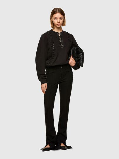 Diesel - F-ANAIT, Black - Sweaters - Image 5