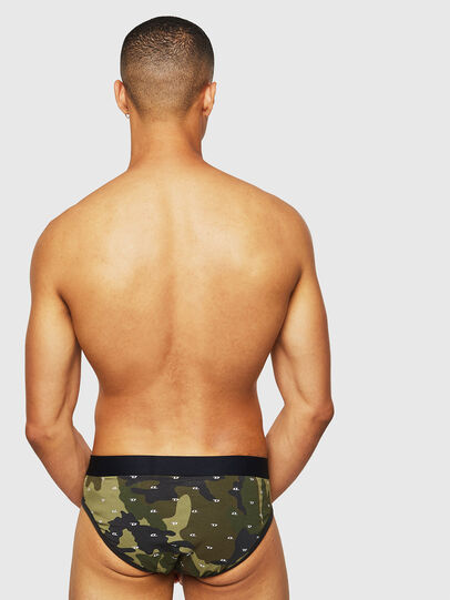 Diesel - UMBR-ANDRE, Green Camouflage - Briefs - Image 2