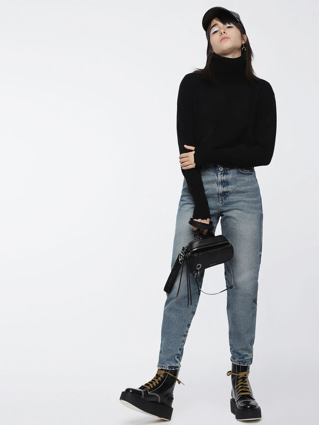 Diesel - M-HACNY, Black - Knitwear - Image 4