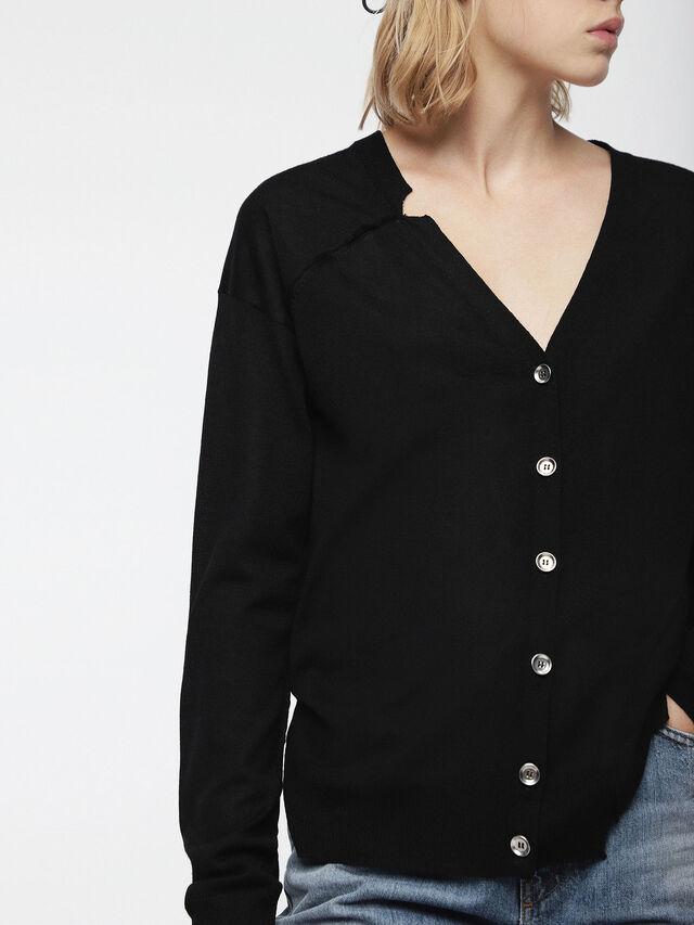 Diesel - M-STILES, Black - Knitwear - Image 3