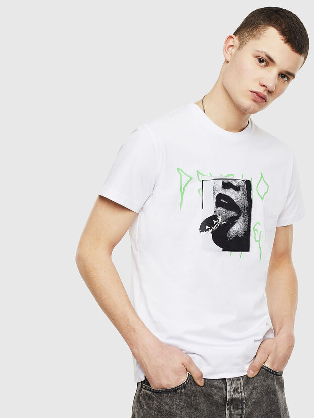 T-DIEGO-S12, White - T-Shirts