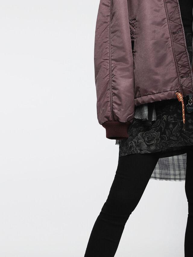 Diesel - W-GIADA, Violet - Winter Jackets - Image 4