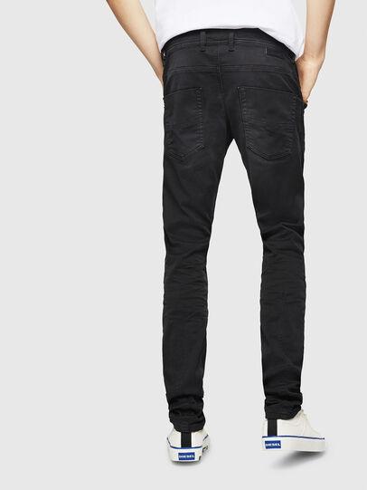 Diesel - Krooley Long JoggJeans 0670M, Black - Jeans - Image 2