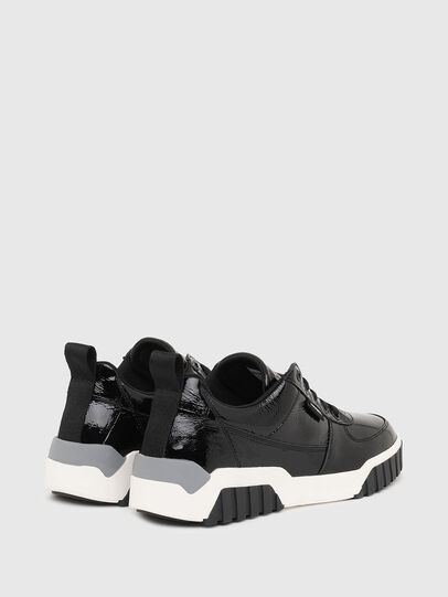 Diesel - S-RUA LOW W, Black - Sneakers - Image 3