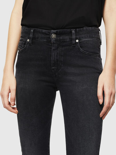 Diesel - Slandy 069JW, Black/Dark grey - Jeans - Image 4