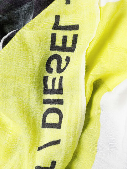 Diesel - SRIGHT, White/Yellow - Scarf - Image 3