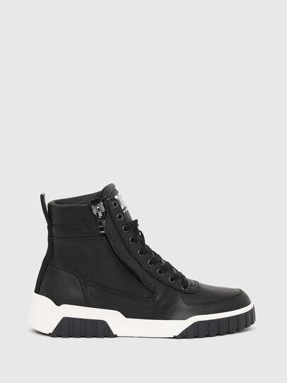 Diesel - S-RUA MID W, Black - Sneakers - Image 1