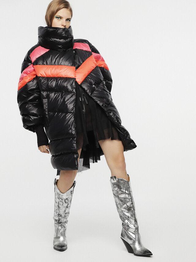 Diesel - W-HERMA, Black - Winter Jackets - Image 5