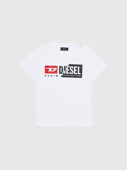 Diesel - TDIEGOCUTYB-R, White - T-shirts and Tops - Image 1