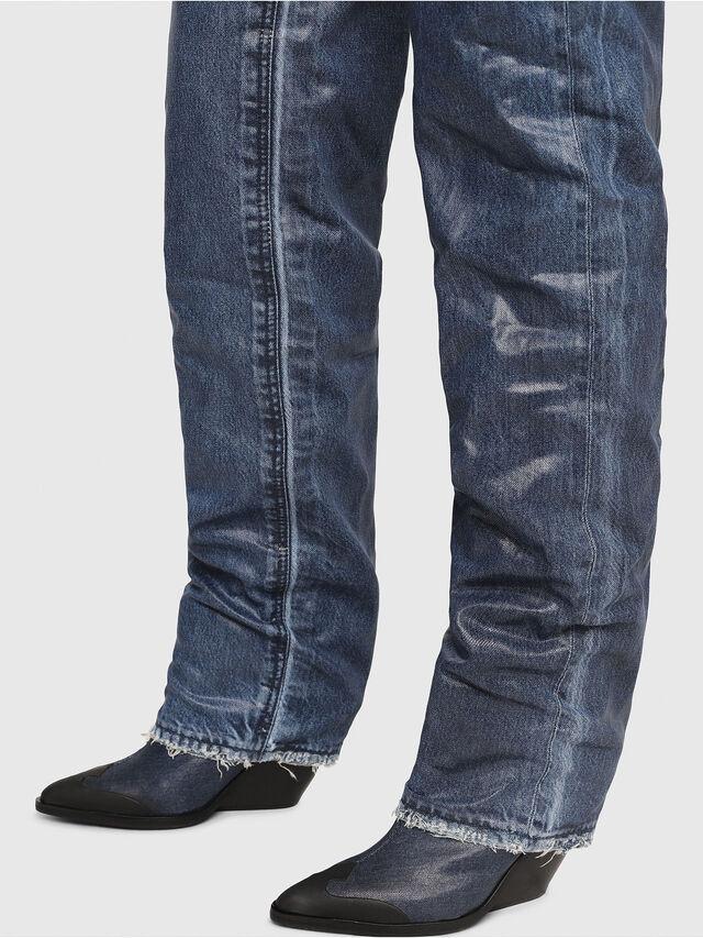 Diesel - D-WEST OTK, Blue Jeans - Boots - Image 4