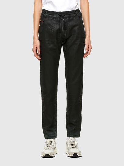 Diesel - KRAILEY JoggJeans® 069QP, Black/Green - Jeans - Image 1