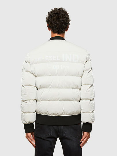 Diesel - W-ON-A, White - Winter Jackets - Image 2