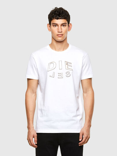 Diesel - T-DIEGOS-A1, White - T-Shirts - Image 1