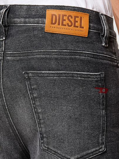 Diesel - D-Istort 009EX, Black/Dark grey - Jeans - Image 4