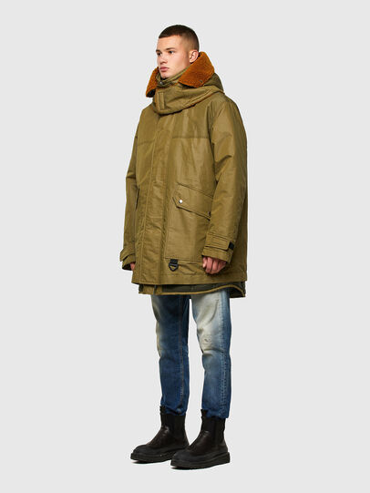 Diesel - W-STEVE, Military Green - Winter Jackets - Image 8