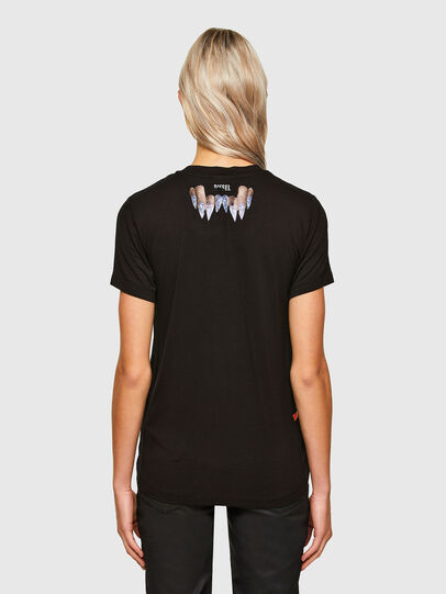 Diesel - T-SILY-R7, Black - T-Shirts - Image 2