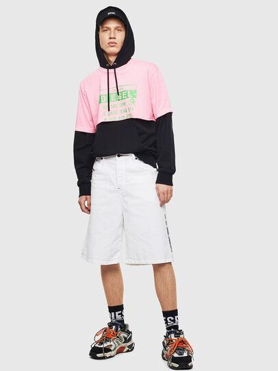 Diesel - T-CROPPY, Pink - T-Shirts - Image 8