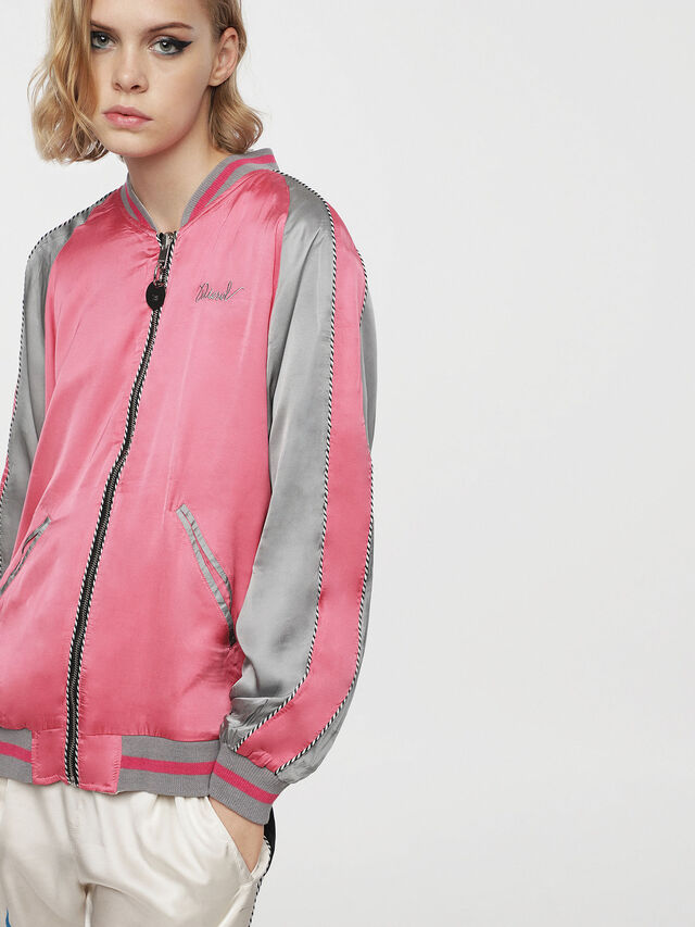 Diesel - G-FRANK-A, Off White - Jackets - Image 2