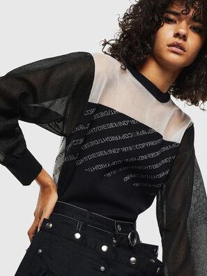 M-COPI, Black/White - Knitwear