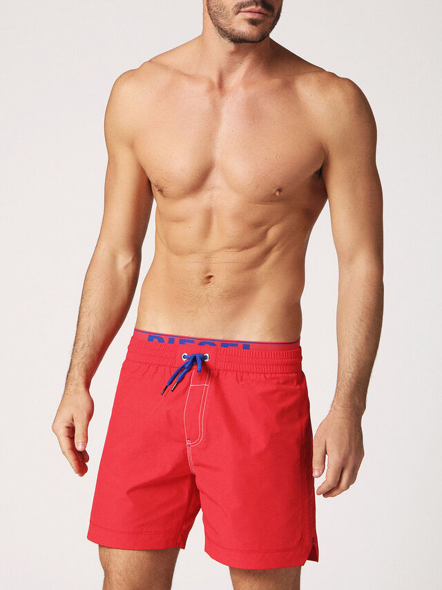 Diesel - BMBX-DOLPHIN-S 2.017, Red - Swim shorts - Image 1
