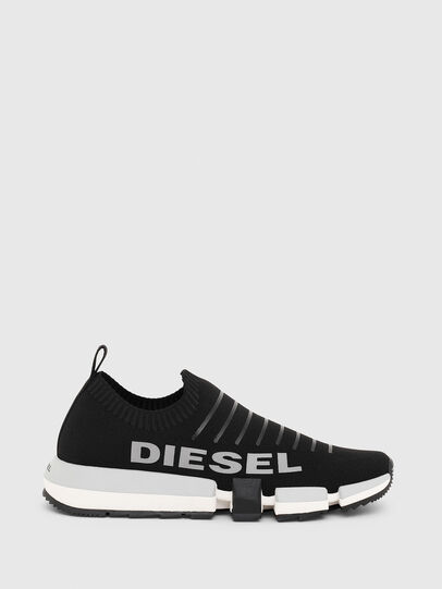 Diesel - H-PADOLA LOW SOCK, Black - Sneakers - Image 1