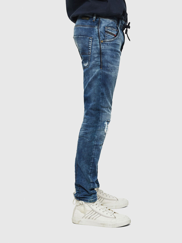Diesel - Krooley JoggJeans 0685I, Medium blue - Jeans - Image 4