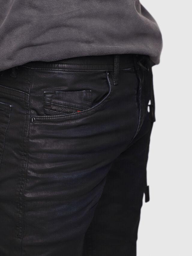 Diesel - Thommer JoggJeans 0688U, Black/Dark grey - Jeans - Image 2