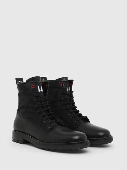 Diesel - D-THROUPER DBB, Black - Boots - Image 2