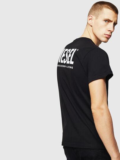 Diesel - LR-T-DIEGO-VIC, Black - T-Shirts - Image 2