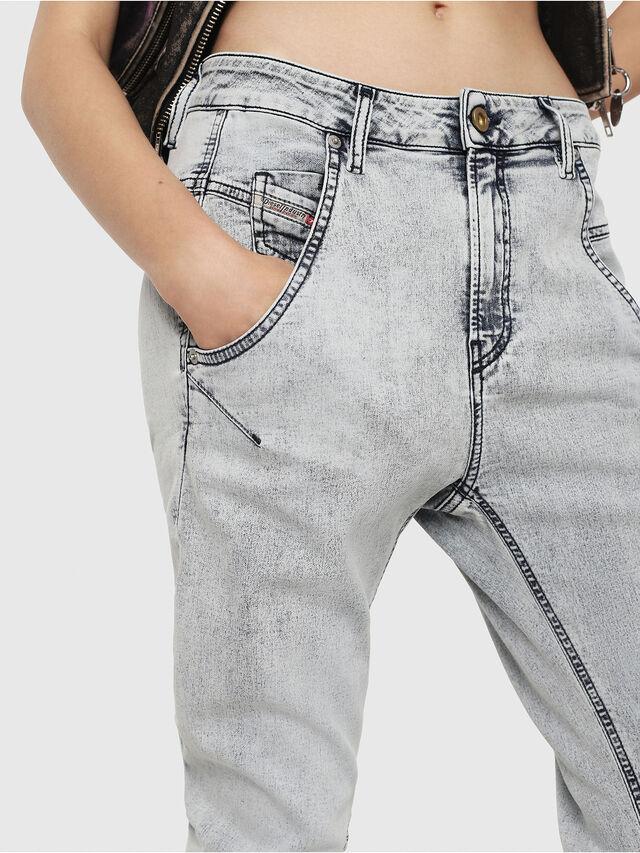 Diesel - Fayza JoggJeans 069FE, Light Blue - Jeans - Image 3