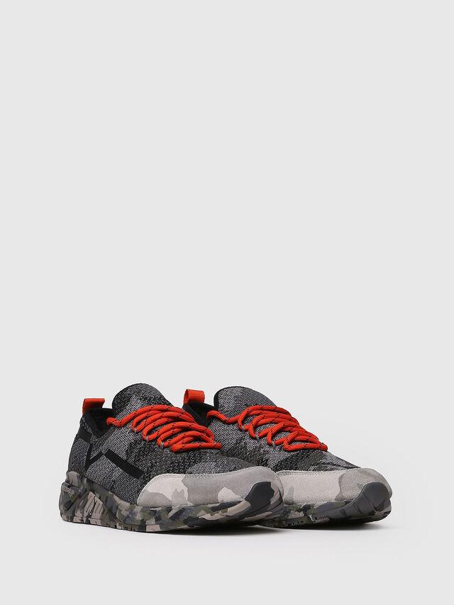 Diesel - S-KBY, Gray/Black - Sneakers - Image 3