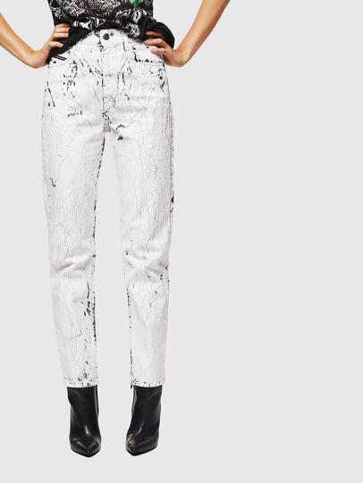 Diesel - D-Eiselle 069JJ, White - Jeans - Image 1
