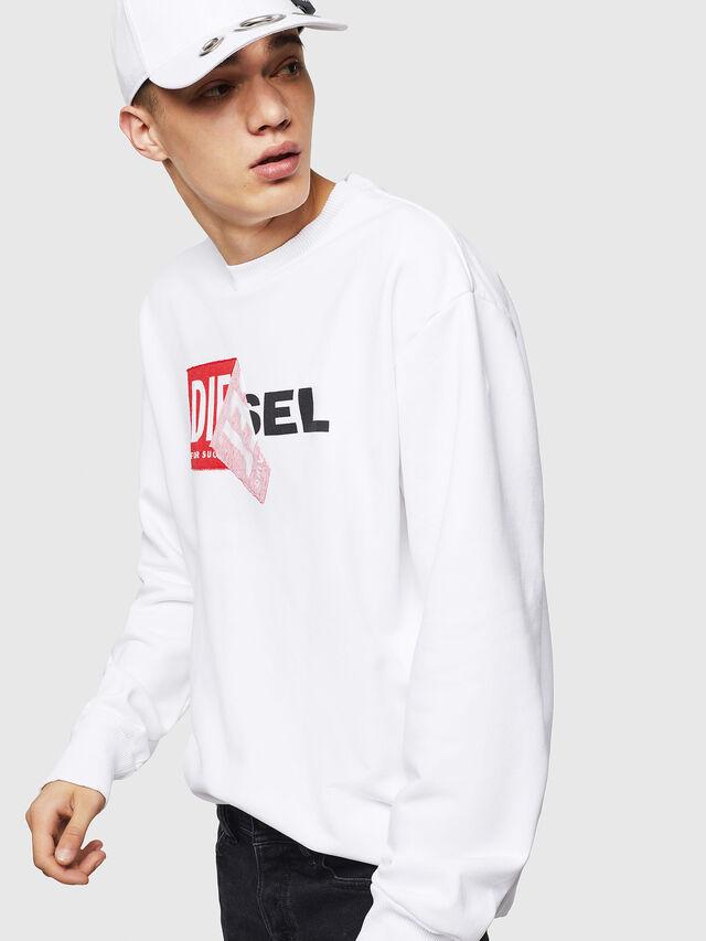 Diesel - S-SAMY, White - Sweaters - Image 4