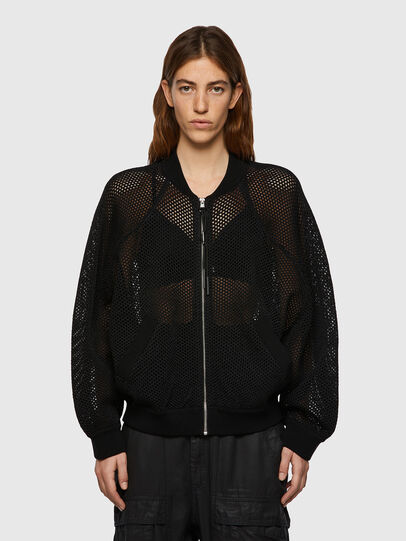 Diesel - M-INDYANA, Black - Knitwear - Image 1
