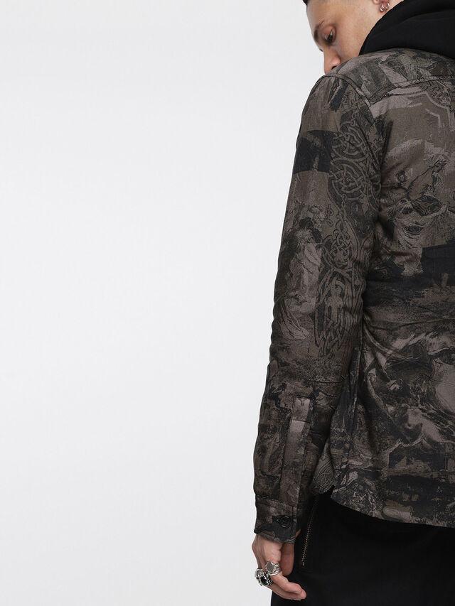 Diesel - S-LATE-PADD-A, Dark grey - Jackets - Image 3