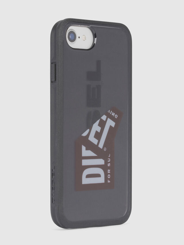 Diesel - STICKER IPHONE 8/7/6S/6 CASE, Black - Cases - Image 3