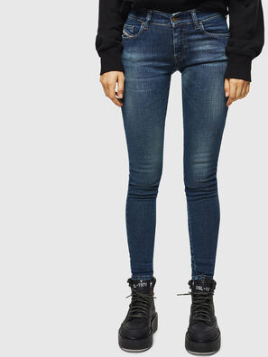 Slandy Low 069KW, Dark Blue - Jeans