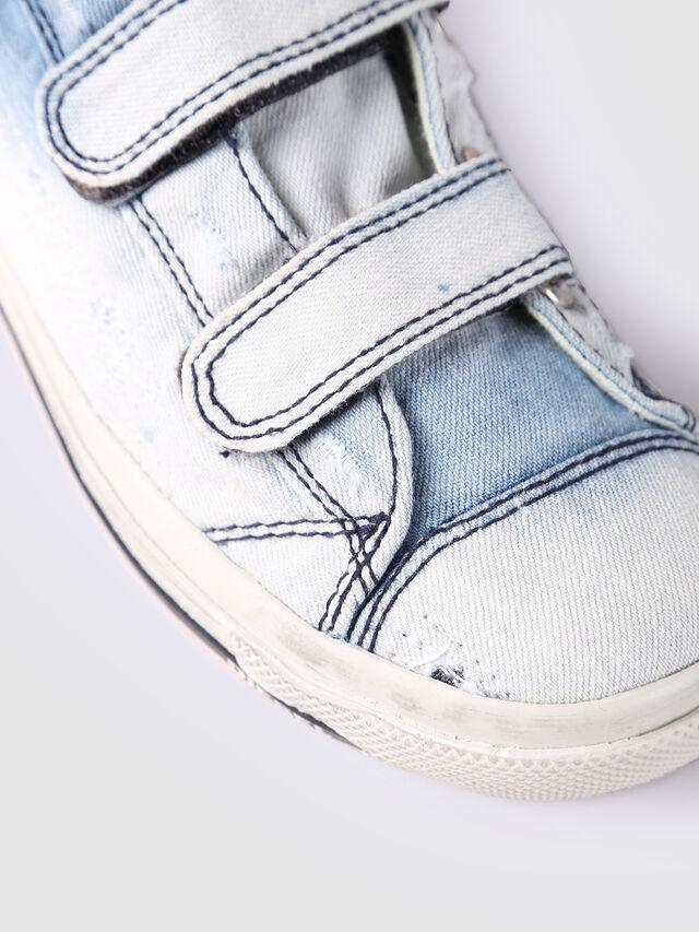 Diesel - SN LOW STRAP 11 DENI, Light Blue - Footwear - Image 4