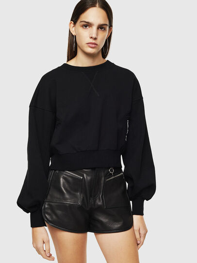 Diesel - F-MONDY, Black - Sweaters - Image 1